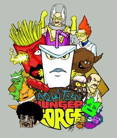Aqua Teen Hunger Force Adult Cartoons, Cool Cartoons, Cartoon Art, Cartoon Characters, Fictional Characters, Simple Tats, Aqua Teen Hunger Force, Sweet Pic, Cute Anime Wallpaper