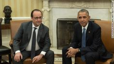 Soon: #Obama - #Hollande Press Conference to push anti - ISIS fight.