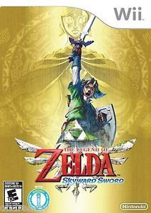 The Legend Of Zelda: Skyward Sword - Nintendo Wii 2011 Brand Sealed