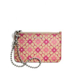 The Waverly Id Skinny In Signature Print Coated Canvas from Coach
