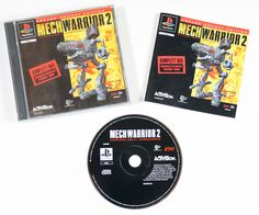 Sony Playstation 1 MechWarrior 2 in OVP für Ps1