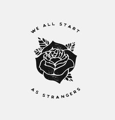Said, we're not lovers. We're just strangers.