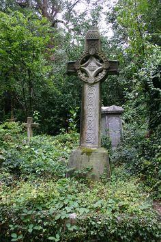 Cementerio de Highgate en Londres, Reino Unido - imágenes View Cemetery