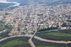 Vista aérea de São Mateus do Sul