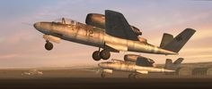 Heinkel He 162D Volksjäger-Salamander