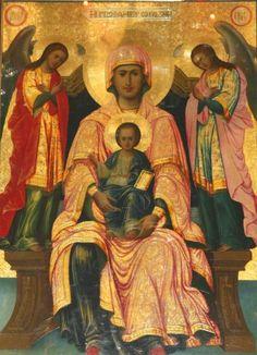 Byzantine Art, Madonna, Artist, Painting, Icons, Image, God, Angels, Dios