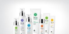 The team at Gasoline has done it again. Creating the brand identity and  packaging for skin care line Iraa, a clean, bright and beautiful design –  adjectives that can also be used when talking about the end result of using  skin care products.