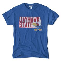 Kansas Jayhawk State T-Shirt