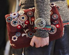"Chanel Pre-Fall 2015 bag from the ""Metiers d'Art Paris-Salzburg"" Collection."