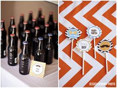 Little Man Printable Party Collection  Baby Shower by tomkatstudio, $39.50