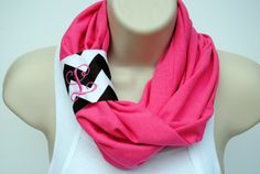 Infinity Scarf with Monogrammed Chevron by CustomGiftCreations, $22.00