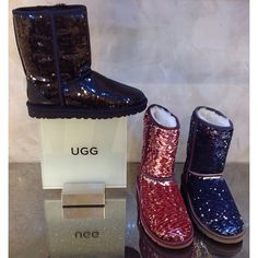 Brown Sparkly Uggs--want