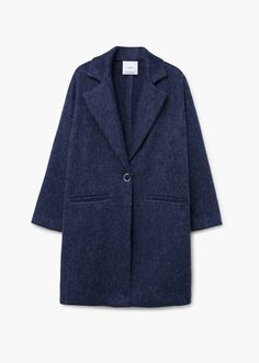 Παλτό από μαλλί και μοχέρ | MANGO ΜΑΝΓΚΟ