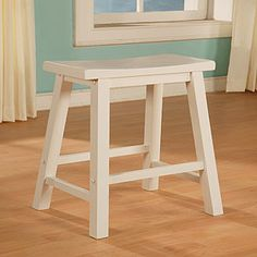 Craft room stools?  White Schoolhouse Counter Stool  SKU #10006849 (Cost Plus World Market)    $69.99