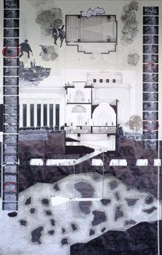 chris t cornelius (oneida); associate professor of architecture,uw-milwaukee; Typology Architecture, Architecture Collage, Architecture Graphics, Architecture Visualization, Architecture Drawings, Architecture Design, Architecture Student, Architecture Presentation Board, Presentation Layout