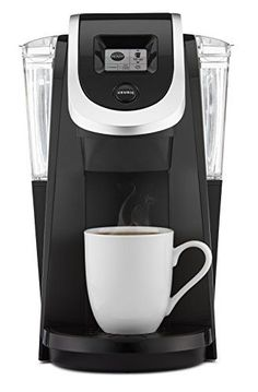 Keurig K250 Single Serve, Programmable K-Cup Pod Coffee Maker, Black - A Slim and Sleek Keurig Single Serve Coffee Maker, the Keurig K250 brews a rich, smooth, and delicious cup every time with the quality you expect from Keurig. With a strength control setting for a bolder brew, and multiple K-Cup, K-Mug, and K-Carafe pod brew sizes, you can customize your settings... #PodCoffeeMakerProducts