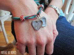 Ginger Snap Crafts: Easy Fingerprint Jewelry from Average But Inspired {contributor}
