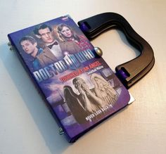 Doctor Who SmartGirl Book Purse by SmartGirlBookPurses on Etsy, $80.00
