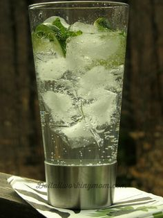 My favourite summer cocktail: Vodka Club Soda. Delicious, refreshing, and low calories. The Perfect Summer Cocktail!