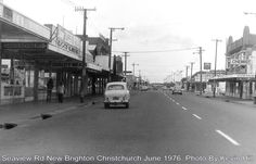 Seaview Road, New Brighton, Christchurch, NZ Christchurch New Zealand, New Brighton, Old Skool, Past, Street View, Random