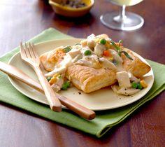 Inside-Out Chicken Pot Pie Recipe