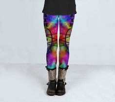 Tie Dye Yoga & Gym Leggings by SoulPatchCreations on Etsy