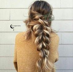 Imagen de blonde, braid, and hair