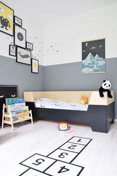 Eli's nieuwe peuterbed van Little Dreamers - +++++ Bébi szoba - Kinderzimmer Boys Bedroom Decor, Kids Bedroom Furniture, Trendy Bedroom, Cheap Furniture, Bedroom Sets, Luxury Furniture, Furniture Nyc, Furniture Stores, Discount Furniture