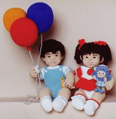 FRED AND KATHLEEN DOLLS BY KATHLEEN EARLY