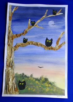 Mixed Media - Owl Projects
