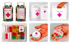 Nhumy!    Balas vendidas em Barcelona na loja Happy Pills. Perfeito pra TPM, não acham? rs