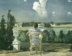 Reading and Art: Alexander Deineka