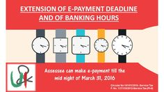 Pay your #ServiceTax by midnight tonight! #Deadline extended till midnight.    Lets U n I Comply :)    #March31 #Tax