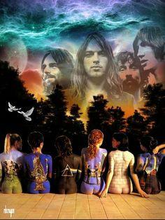 Pink Floyd artwork by Rich Deragon