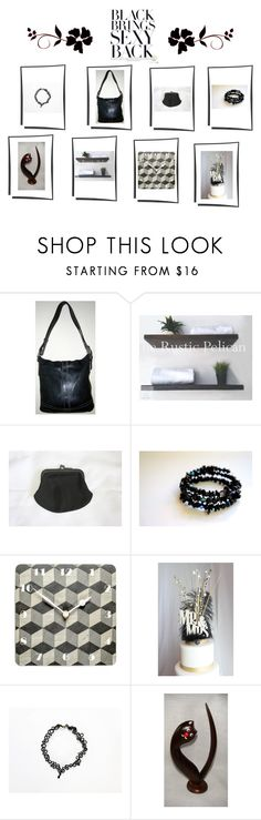 """""""Black Brings Sexy Back"""" by beachdawn ❤ liked on Polyvore"""