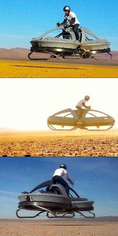 Aerofex Hovercraft - like StarWars!