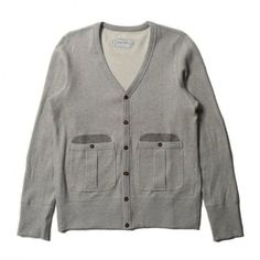 Rice Mesh V-Neck Cardigan Grey ($100-200) ❤ liked on Polyvore featuring tops, cardigans, outerwear, cardigan top, v-neck cardigan, v neck cardigan, gray top and mesh v neck top