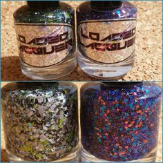 "Loaded Lacquer ""The Dog Ate My Homework"" & ""Captain Obvious"" $7 each (swatched 1x, buyer covers shipping and pp fees)"