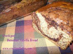 Crock-Pot Nutella Banana Bread -CrockPotLadies.com