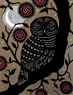 'Barred Owl' by Angie Pickman
