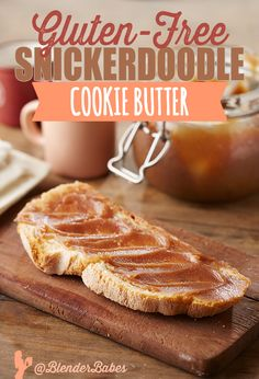 GLUTEN-FREE SNICKERDOODLE COOKIE BUTTER RECIPE via @BlenderBabes | If you look for this recipe elsewhere on the internet, you will find nothing healthy about it. But we've managed to substitute almost all of the ingredients to produce a gluten-free, almost-healthy snickerdoodle cookie butter!