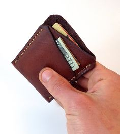 Personalized Leather Protective Wallet for iPhone 4s 5s , Hand-Stitched Leather iPhone Wallet , Custom Credit Card Case-SR