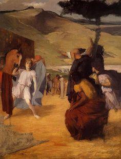 Alexander and Bucephalus, 1859-1861 - Edgar Degas                                                                                                                                                                                 More