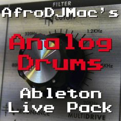 Gritty Warm Drum Samples -- Analog Drums #Ableton Live Pack