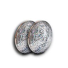 FRENDS Headphones, Glitterbomb Silver Layla Cap Set