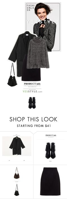 """Winter Fashion - YesStyle"" by juhh ❤ liked on Polyvore featuring migunstyle, Bongjashop, Dolce&Gabbana and H&M"