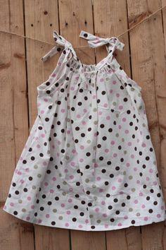Pink Polka Dot Party toddler pillowcase by FlipSidePillowcase, $18.99