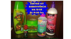 SORTEIO - KIT SOBREVIVÊNCIA | Amora Cah