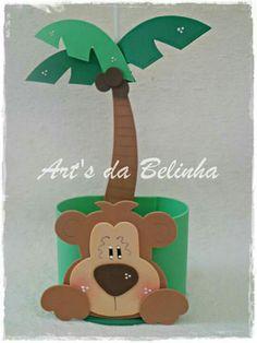 Mono palmera