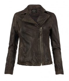 Strabler Leather Biker Jacket